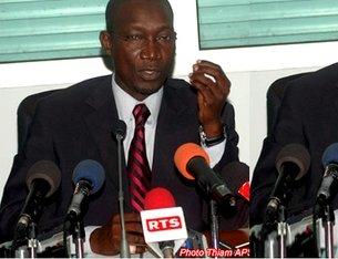 Me Elhadj Amadou Sall, ministre, porte-parole du président de la République Sénégal