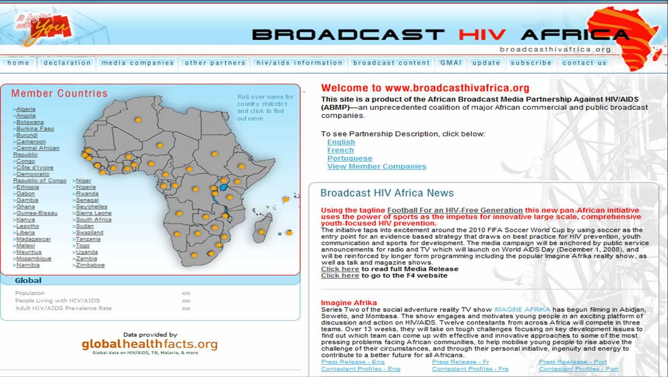 Broadcast  HIV