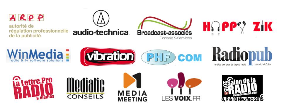 Partenaires Radiopub Awards 2015