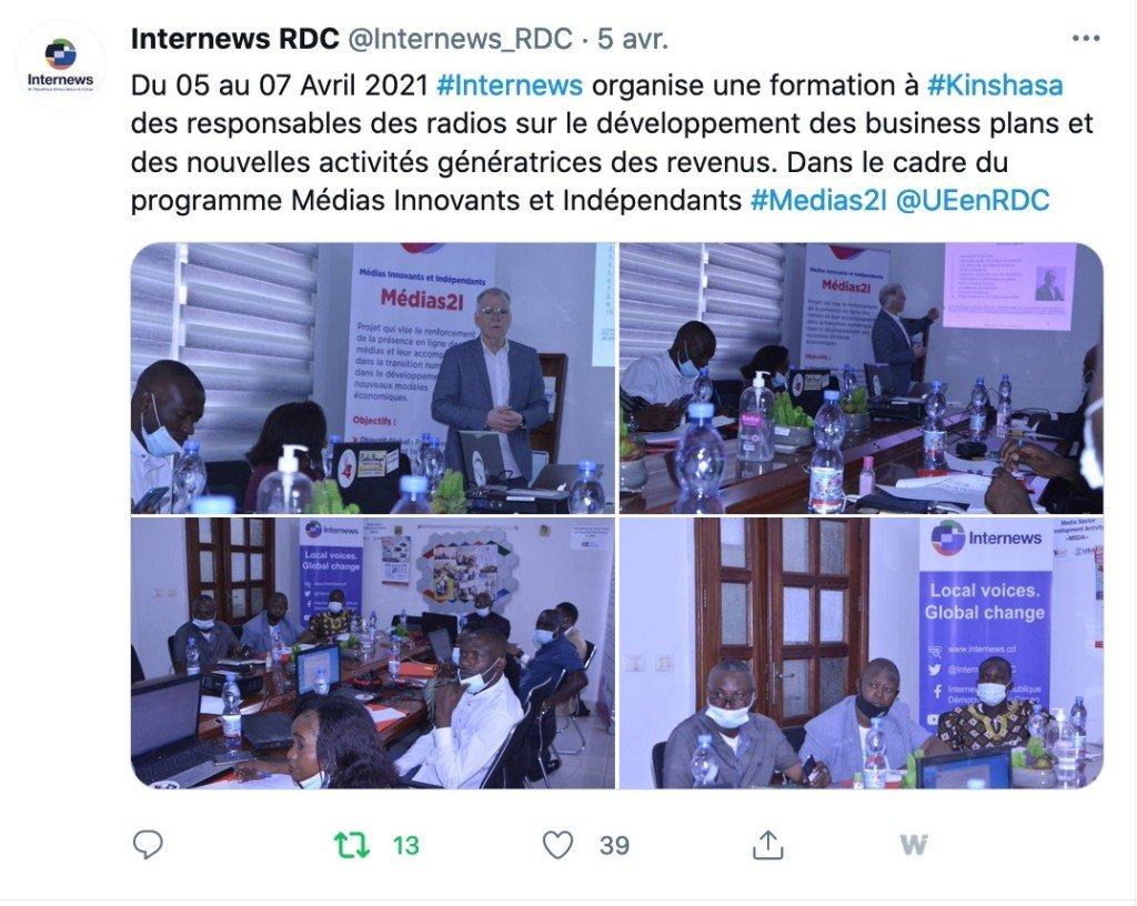 Tweet Internews 5