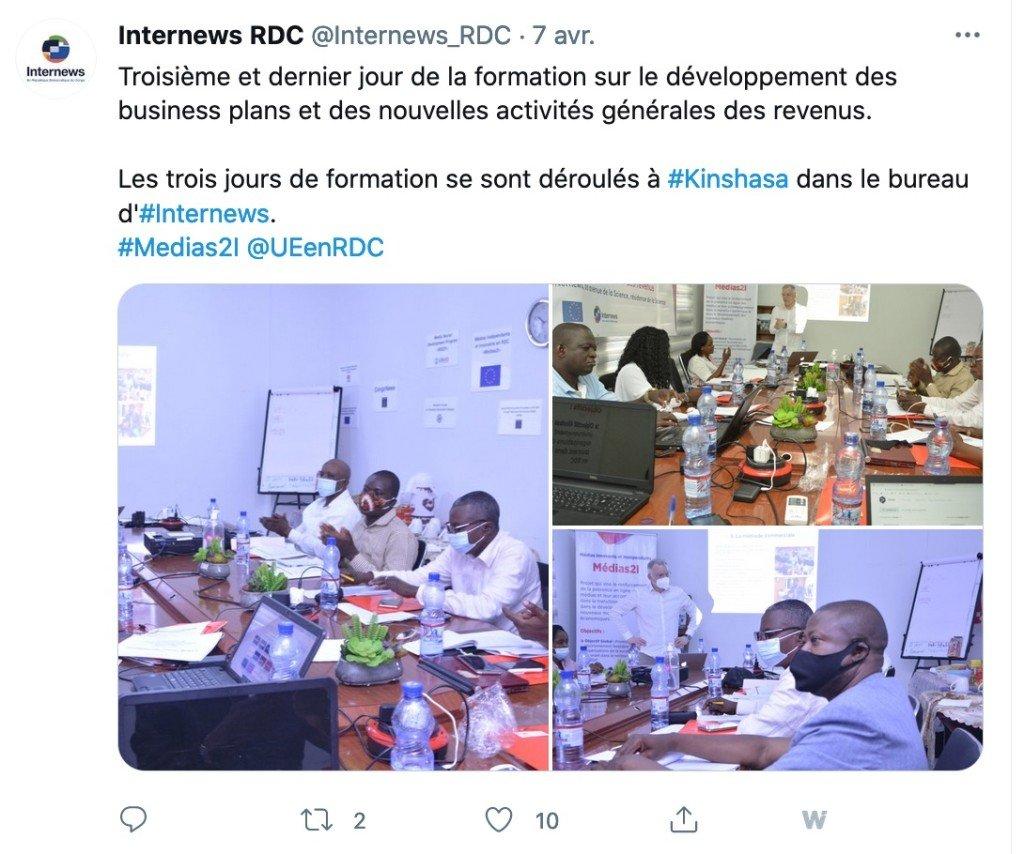 Tweet Internews 7:04